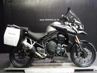 15/15 TRIUMPH TIGER EXPLORER 1200 LUGGAGE ONLY 390 MILES