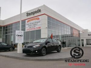 2016 Toyota Corolla 4DR SDN CVT S LEATHER AND SUNROOF   - Certif