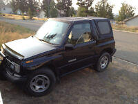 1990 Geo Tracker Ls Coupe (2 door)