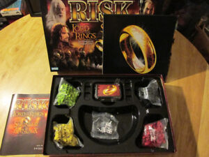 RISK Board Game War LotR Lord of the Rings Middle Earth NO RING