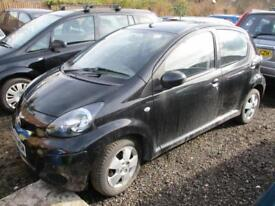 2009 Toyota Aygo Hatch 5Dr 1.0VVTi 67 Black Petrol black Manual