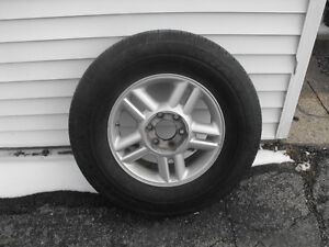 265/70/17 tires and rims