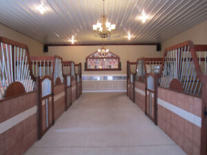 Selling Horse Stalls & Awards Case - Removable/Portable