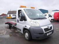 PEUGEOT BOXER 335 L3 LWB RECOVERY TRUCK Silver Manual Diesel, 2012
