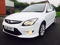 NOVEMBER 2011 HYUNDAI I30 COMFORT 1.6 CRDI 6 SPEED FULL SERVICE HISTORY ONE OWNER RECENTLY SERVICED