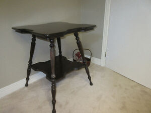 Lamp Stand Table - Antique