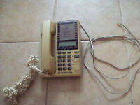 1-TELEPHONE GENERAL ELECTRIC,SPEAKER PHONE 32,VINTAGE.