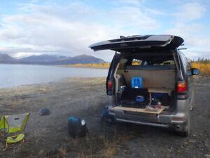 Mitsubishi Delica camper or family van