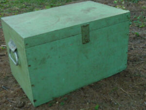 Green Container Box from the 1950's