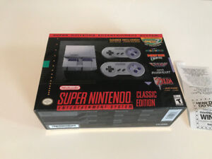 SNES Classic. Brand new in factory sealed box. w/receipt $150