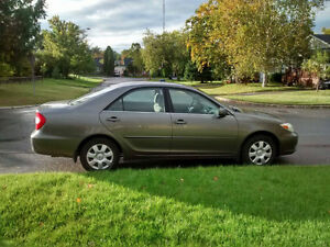 2003 Toyota Camry, seulement 130 000km!!