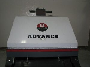 Advance walk behind 24 Volt electric floor sweeper