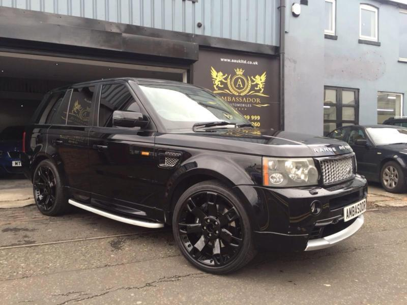 land rover range rover sport 4 2 v8 supercharged 2012 autobiography conversion in moseley. Black Bedroom Furniture Sets. Home Design Ideas