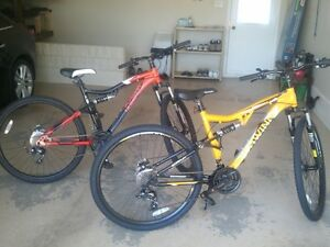 BOTH SOLD PENDING PICK UP TUESDAY  NEW SCHWINN BIKES
