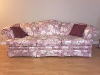 Couch and love seat for sale !!