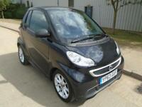 2013 (63) SMART FORTWO 1.0 SOFTOUCH PASSION CONVERTIBLE AUTOMATIC SAT NAV