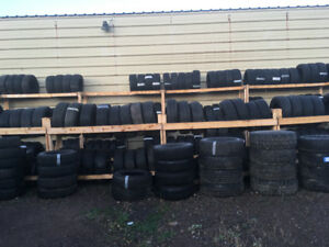 USED TIRES 14 - 15 - 16 - 17 - 18 - 20 INCHES FROM $25 and up!