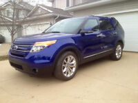 2013 Ford Explorer Limited SUV, fully loaded, 42,000km, Warranty