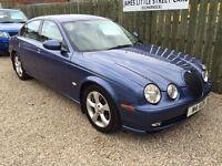 Jaguar s type sport 2.5 automatic 53 reg sat nav cream leather immaculate