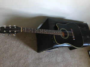 Washburn SBF-24 Solid Body Acoustic/Electric Guitar
