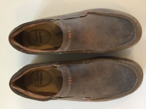 Clarks leather shoe