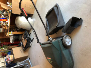 Electric Lawn mower with bag