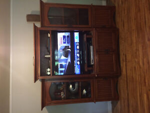 Real wood Entertainment unit