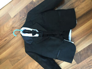 2T boys tux from moores. Excellent condition.