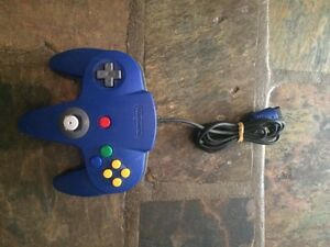 Nintendo 64 Blue Controller Newcastle Newcastle Area Preview