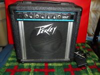Peavey Solo Electric Guitar Amplifier USA Made $100.