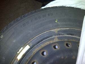 195/65R15 Michelin X-Ice Xi2 Package Kitchener / Waterloo Kitchener Area image 2