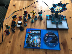 LEGO Dimensions PS 4 Game and Figures