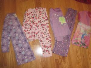 Girls Size 6 Pajamas