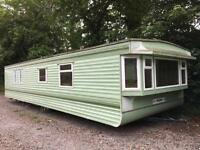 UNSITED WILLERBY STATIC CARAVAN HERALD DOUBLE GLAZING 35x12