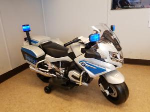 "Kids Electric  ""Police"" Bike on Sale- $375 !!!"