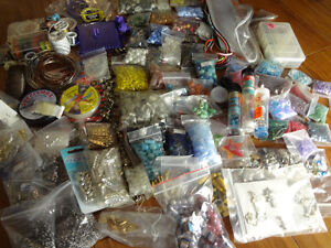 Large Lot of Beading/ Craft Materials