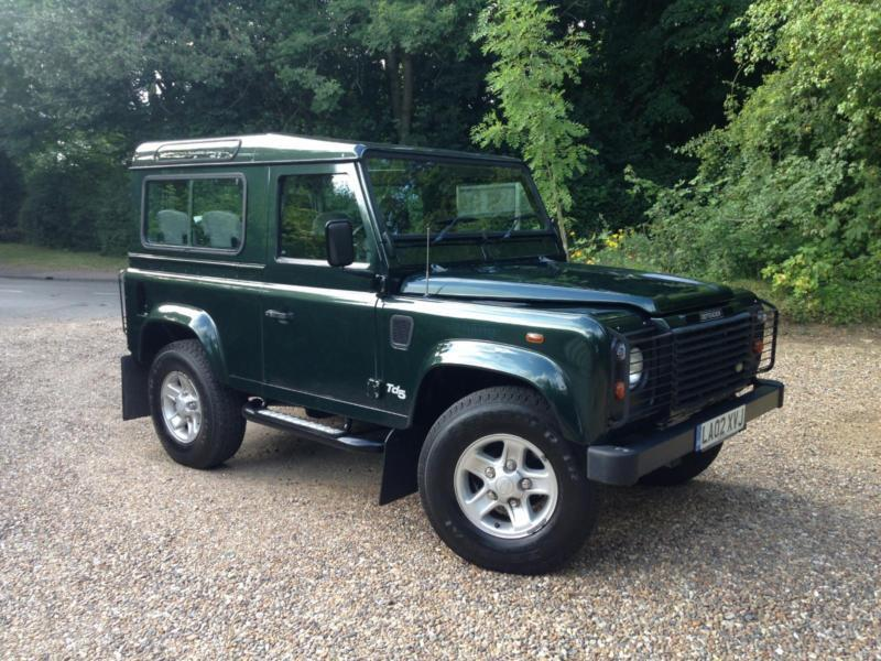 2002 Land Rover Defender 90 County Station Wagon Td5 Air