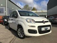 2012/12 Fiat Panda 1.2 8v 69bhp Pop 5 Door Bossa Nova White S/HISTORY £30 TAX!