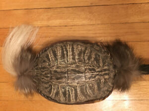 TURTLE RATTLE - NATIVE MADE FOR DANCING CEREMONY