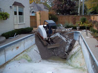 www.BytownContracting.com Pool Demolition & Pool fill ins