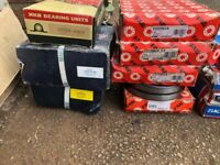 Large Bearings and bolts for sale