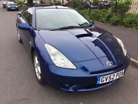 Toyota Celica 1.8 Petrol 3Dr 2002 Long MOT Leather