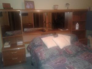 Oak Headboard for Queen size bed