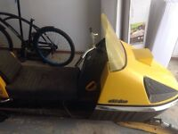 1970 Skidoo Nordic with electric dtart