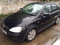 Vauxhall corsa sxi+1.4 black full service mot £1075