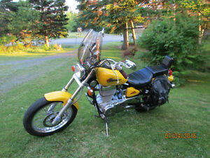 Suzuki Savage 650 for sale or trade Honda Magna v45 ETC.