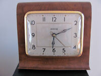 Ancienne horloge Ingraham Vintage Electric Mantle Clock