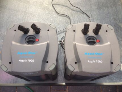 Aqua one canister filter Reynella East Morphett Vale Area Preview