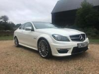 2014 Mercedes Benz C Class C63 AMG 6.3 V8 Coupe Auto 2 door Coupe