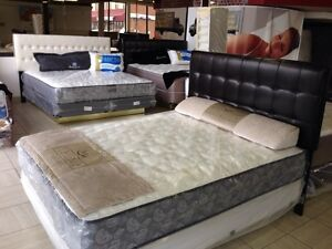 Grande Liquidation de Matelas Kingsdown, Sealy, Serta, Simmons..